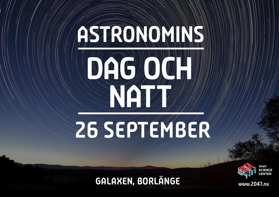 Borlänge Science Festival Pop-up